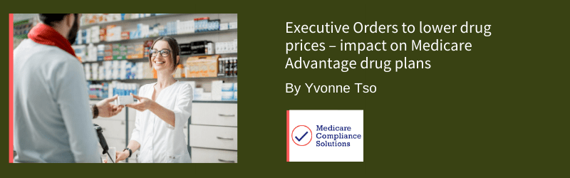 Executive orders lower drug prices